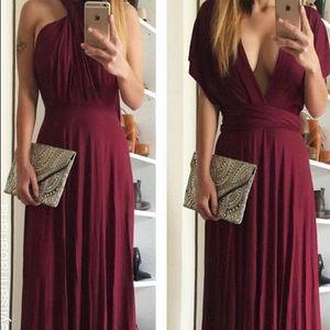 Lulu's Multi-Way Jersey Maxi Dress!